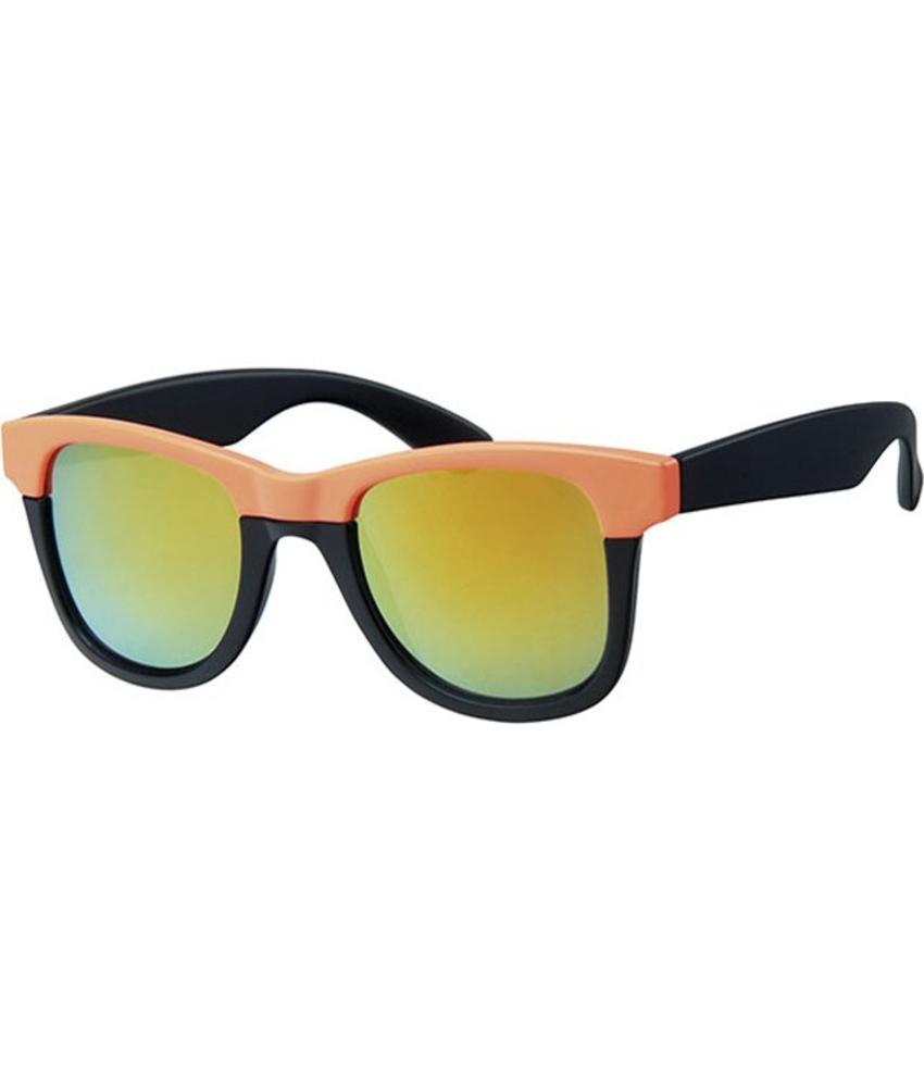 Flashy zonnebril neon orange up