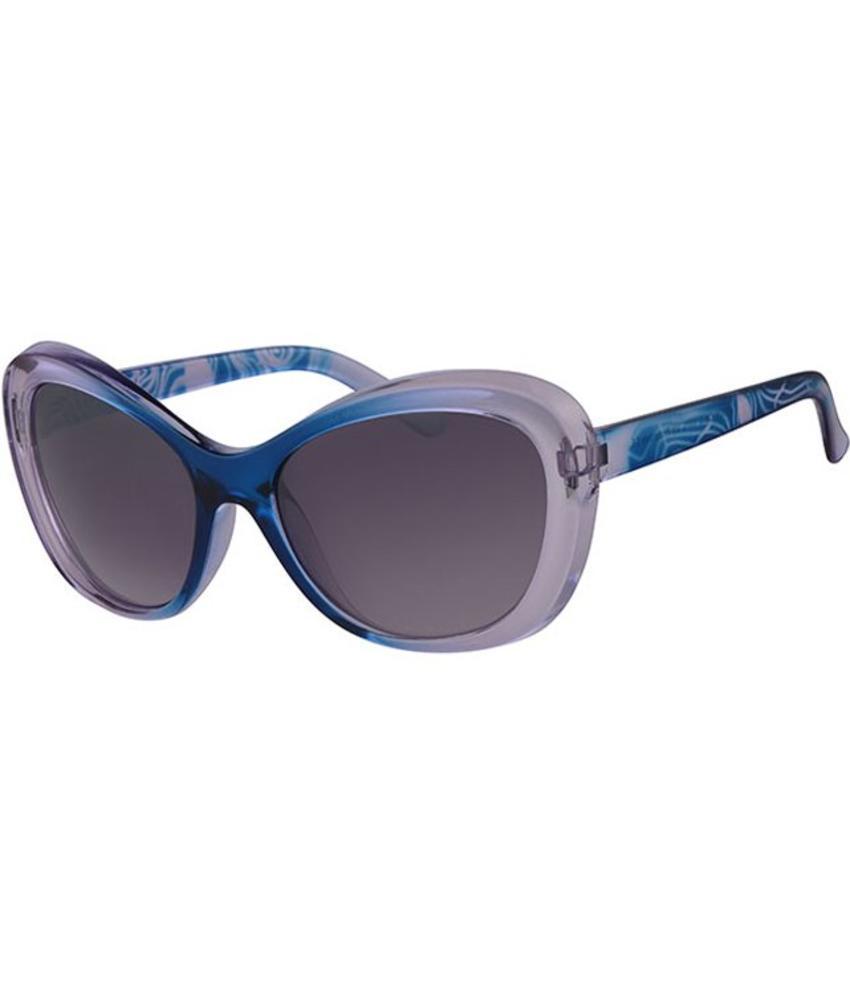 Dames Zonnebril transparant light blue