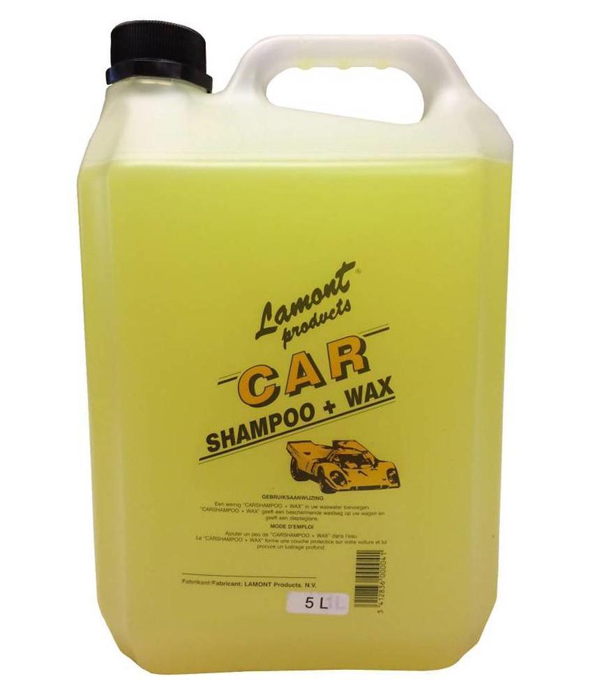 Lamont Autoshampoo + wax 5 Liter