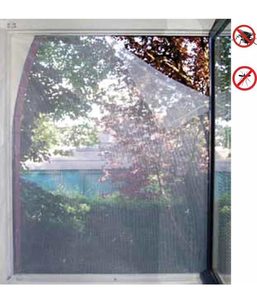 Vliegengaas voor ramen 130x150cm Wit