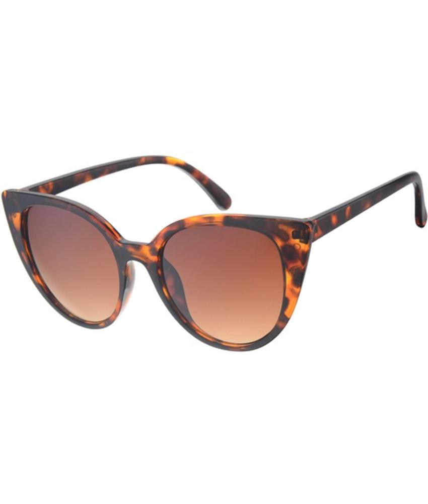 Dames Zonnebril Butterfly brown demi