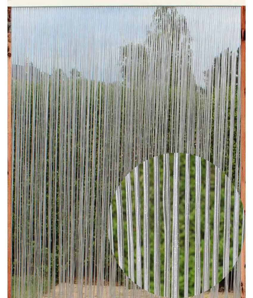 Vliegengordijn Capri cristal 140 x 240 cm. Transparant