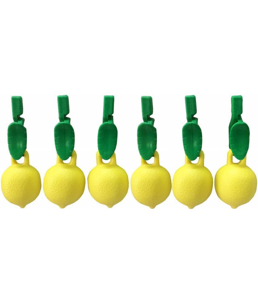 Tafelkleedgewichten citroen 6 st.