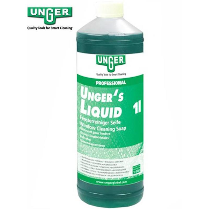 Unger Glazenwassers zeep Liquid 1 liter