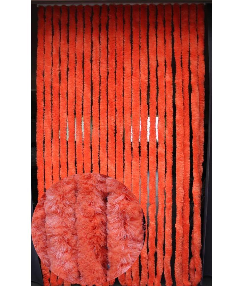 Vliegengordijn kattenstaart 90x220 cm Oranje