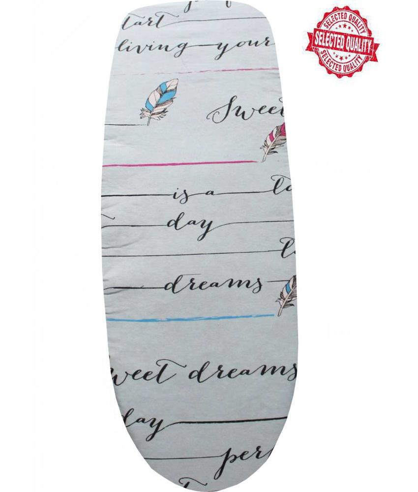 Strijkplankovertrek 140 x 50 cm Blauw / sweet dreams
