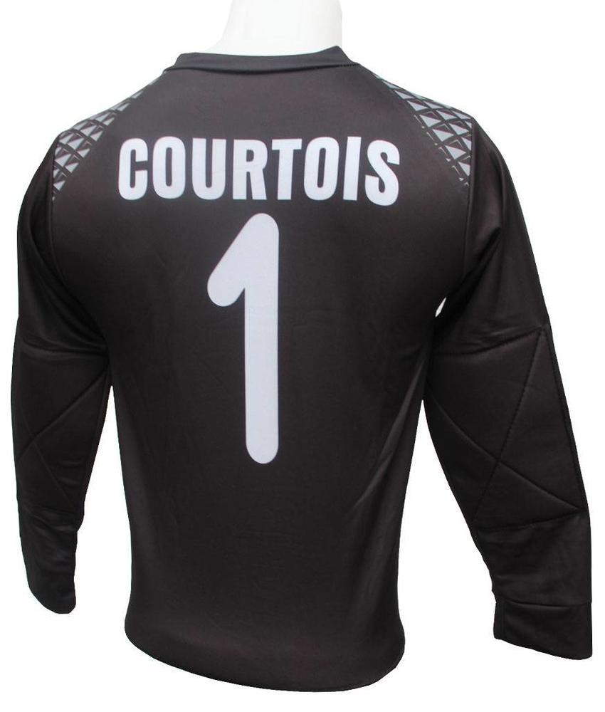 "België Keepersshirt Courtois ""Lange mauwen"""