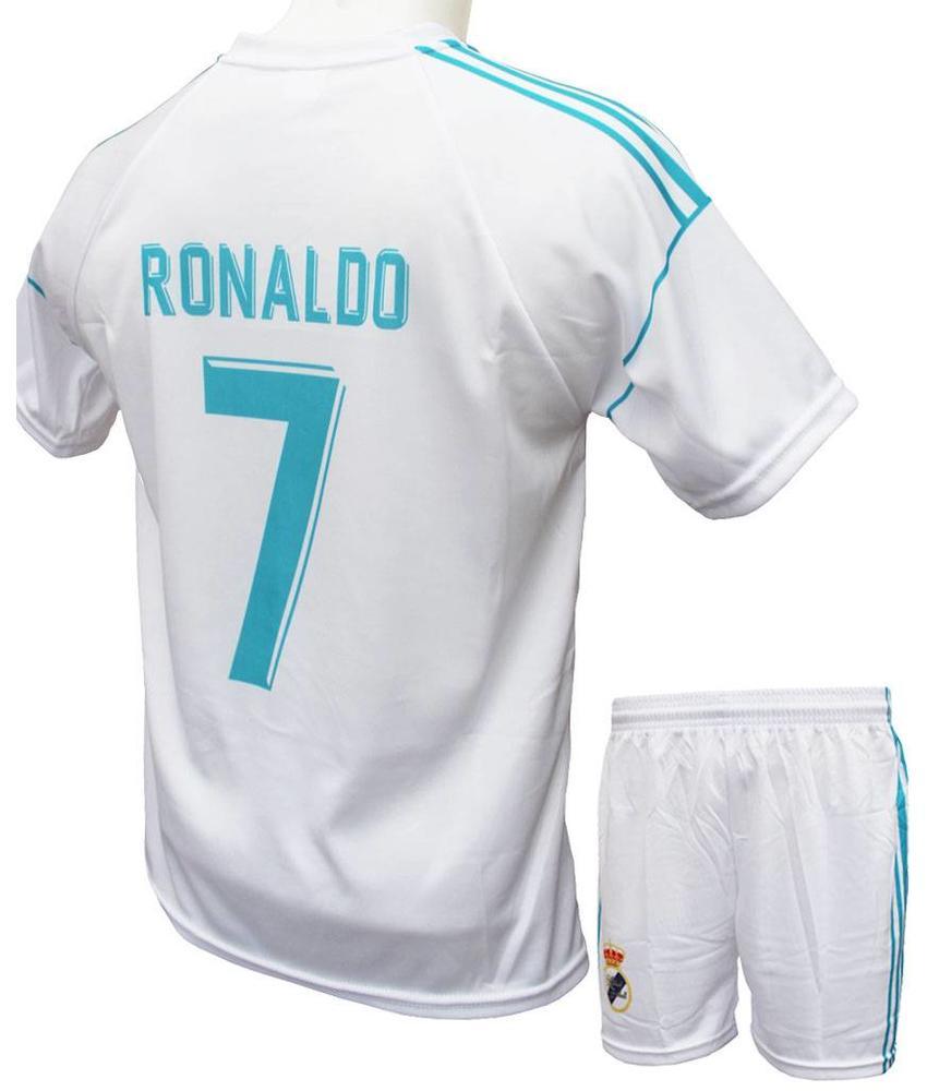 """Madrid Voetbaltenue Ronaldo 2017-2018 """"Thuis"""""""