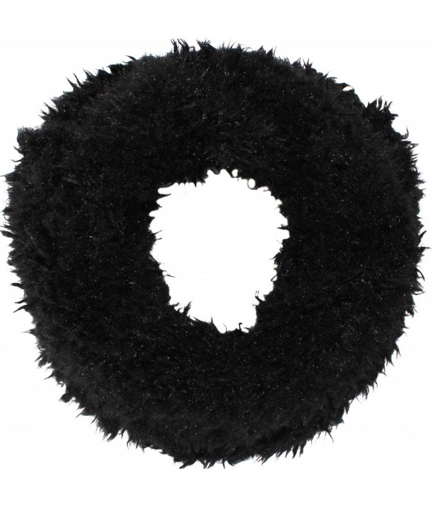 Colsjaal Schapenpels Zwart