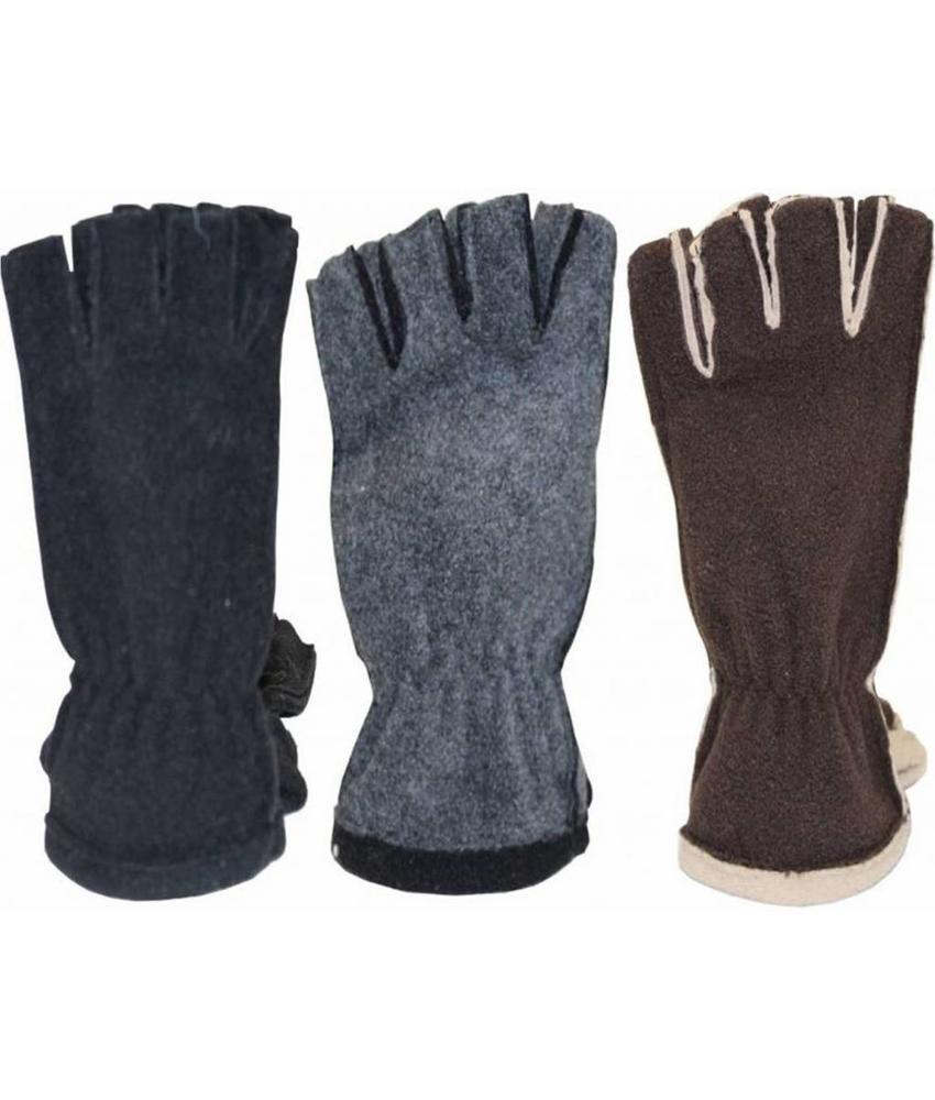 Handschoenen zonder vingers Dames Fleece