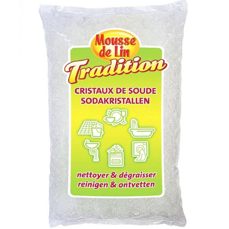 Soda kristallen 2 kg. - Mousse de Lin