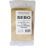 Stofzuigerzakken SEBO C / X / XP Series, Kunststof aansluiting