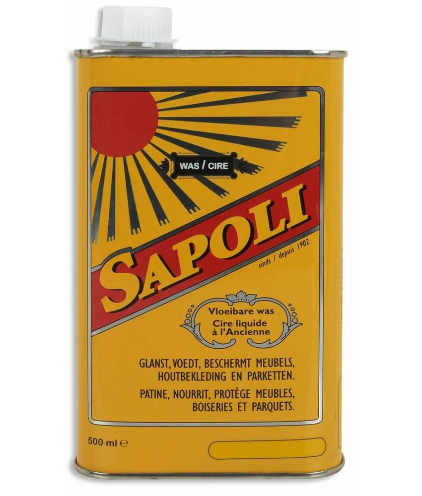 "Eres SAPOLI  ""Vloeibare Boenwas"" Natural  500ml"