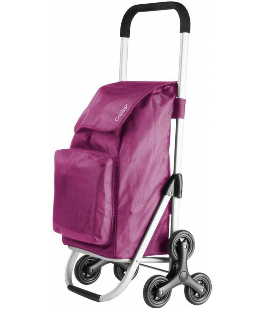 Boodschappentrolley  - Shopping Cruiser - Trappenloper  Fuchsia