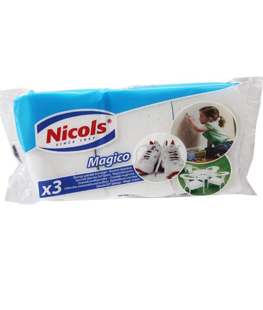 "Nicols Magico ""Magische spons"" 3 st."