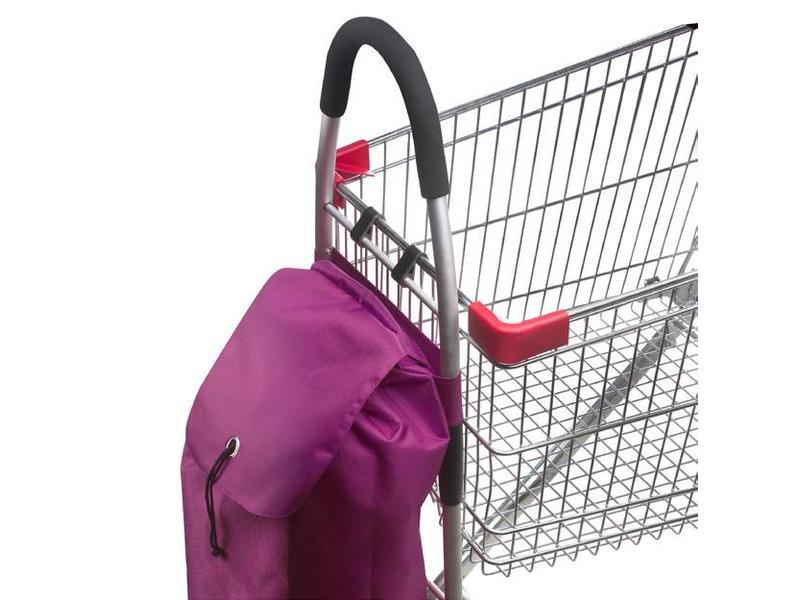 Boodschappentrolley  - Shopping Cruiser Opvouwbaar - Fuchsia