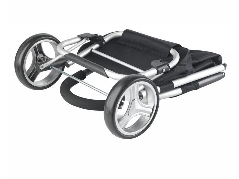 Boodschappentrolley - Shopping Cruiser Opvouwbaar - Grijs