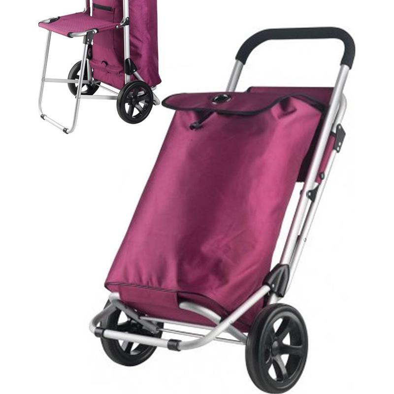 Boodschappentrolley - Shopping Cruiser Shop & Relax - Fuchsia