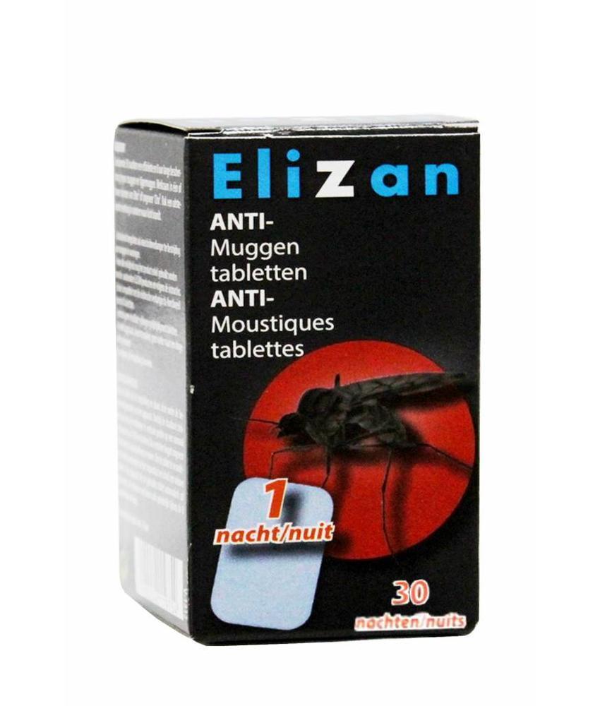 Elizan anti muggen  navulling 30 tabletten