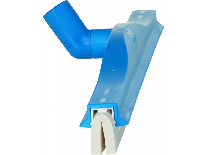 Vikan Draaibare vloertrekker 40 cm.  met cassette  blauw