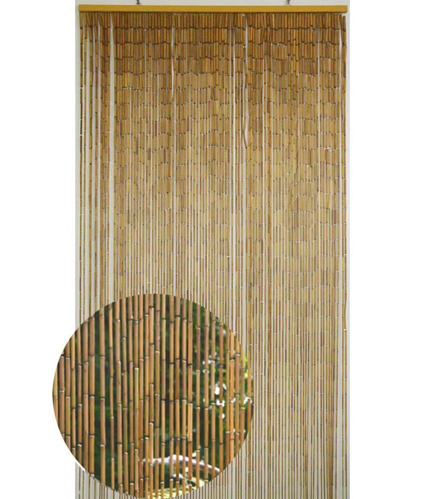Deurgordijn  Bamboe  Natural   90 x 200 cm
