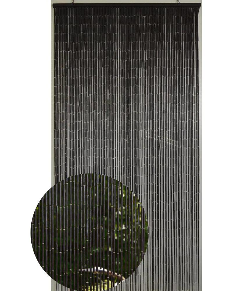 Deurgordijn  Bamboe  Dark   90 x 200 cm