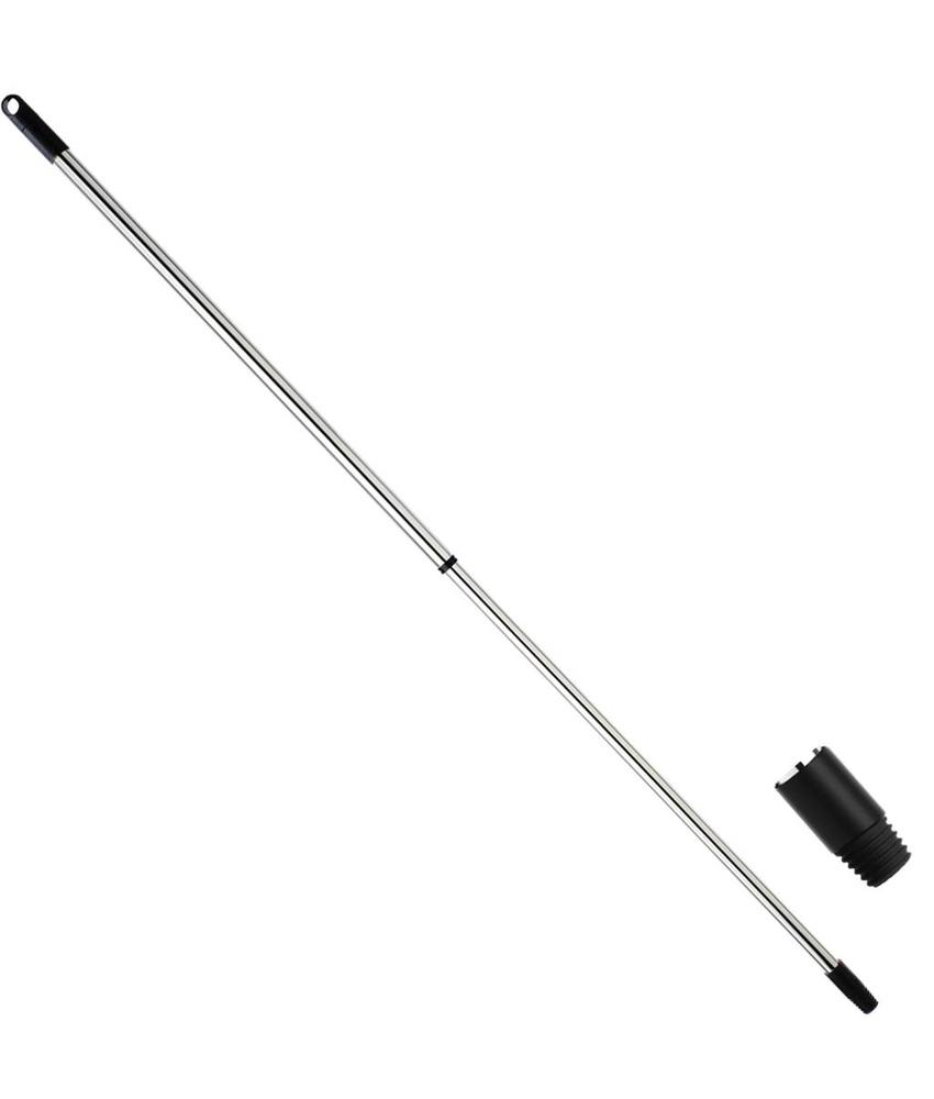 Telescoopsteel Chrome  80 < 140 cm  Ø 21 mm  It/dr