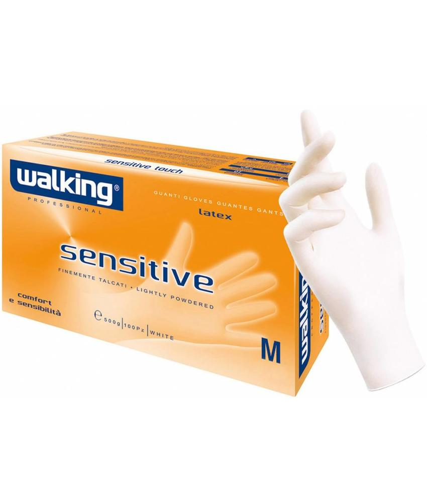 "Squizzo Latex-handschoenen ""Sensitive""  100 st."