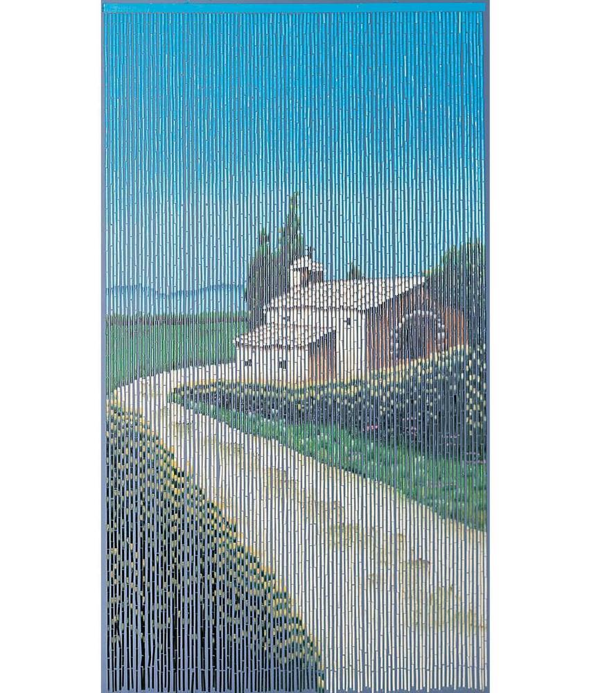 """Bamboe vliegengordijn """"Landelijk""""  90 x 200 cm"""