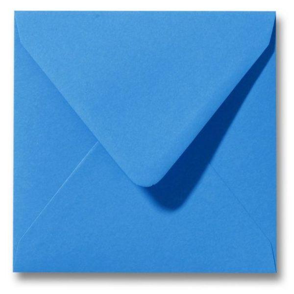 Gekleurde envelop Koningsblauw