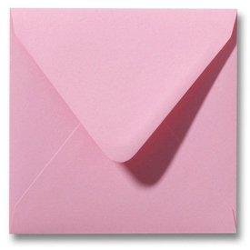 Gekleurde envelop Donkerroze