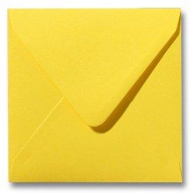 Gekleurde envelop Boterbloemgeel