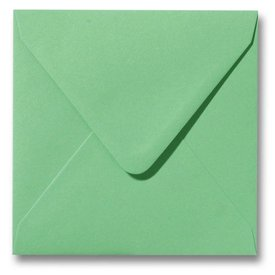 Gekleurde envelop Weidegroen