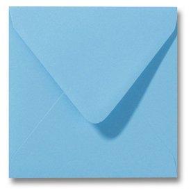 Gekleurde envelop Oceaanblauw