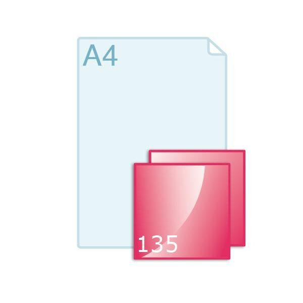 Inlegvellen voor kaart 135 x 35 (135 x 135 mm)