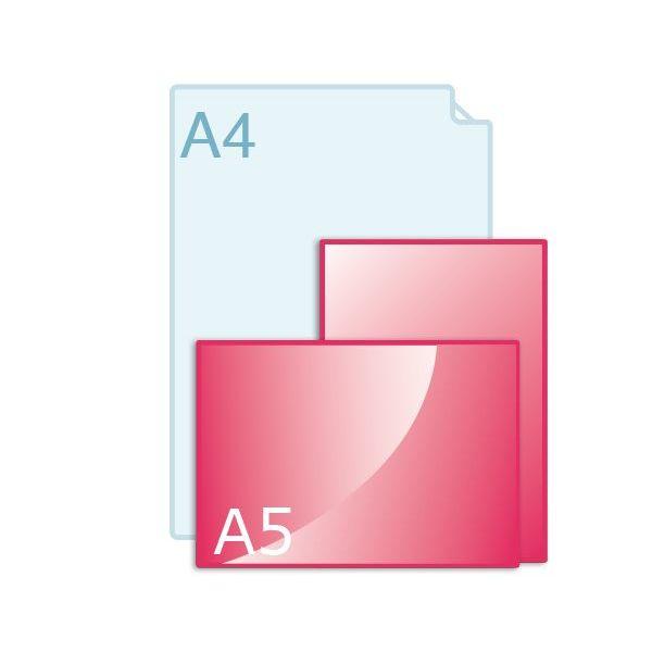 Inlegvellen voor kaart A5 (210 x 148 mm)