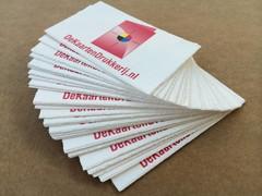 Visitekaartjes drukken met gratis proefdruk