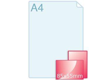 Standaard 85 x 55 mm