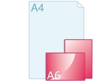 Enkele kaart A6