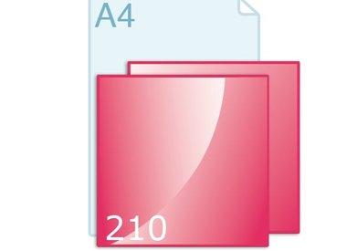 Enkele kaart carré 210