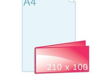 Gevouwen 210 x 100