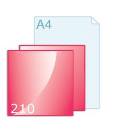 Enkele kaart carré 210 maken