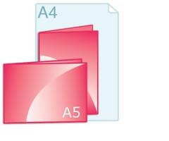 Geboortekaartjes drukken A5 formaat