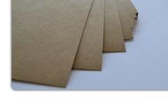 Luxe kaarten drukken op kraftpapier