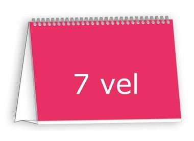 Bureaukalender drukken op standaard