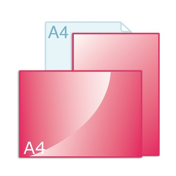 Enkele kaart A4 (210 x 297 mm