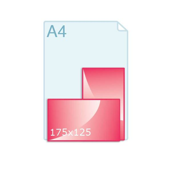 Enkele kaart 125 x 175 mm