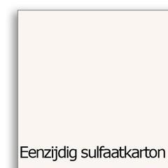 Eenzijdig gestreken sulfaatkarton