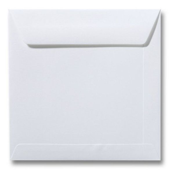 Blanco envelop 105 x 105 mm