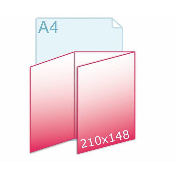 Drieluik wikkel A5 (442 x 210 mm)